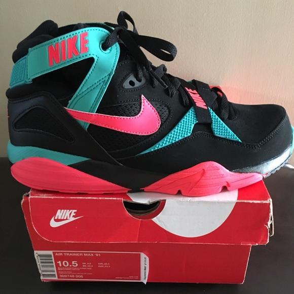 00d9b7af0f Nike Shoes | 1991 Trainers Bo Jackson South Beach | Poshmark